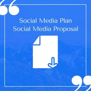 A Compelling and Easy to Customize Social Media Plan Template to Win Clients